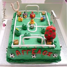 Angry birds soccer | Virginia's Cakes
