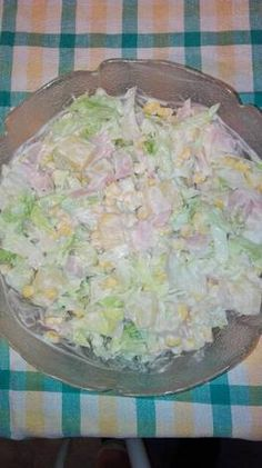Hawaii saláta, ahogy én készítem Cold Dishes, Sweet And Salty, Quick Meals, Salad Recipes, Food To Make, Healthy Living, Clean Eating, Dinner Recipes, Food And Drink