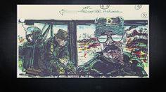 The Apocalypse Now storyboards