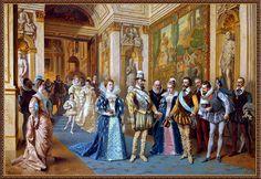 Ladislaus Bakalowicz - Enrique IV y María de Médicis