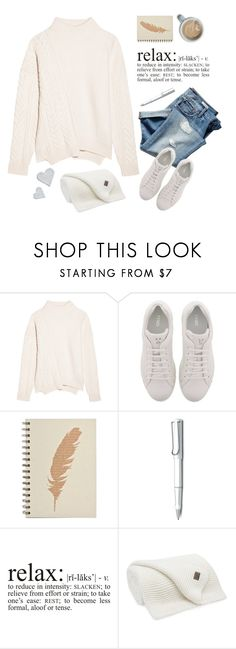 """""""Cosy mornings"""" by lana-drazic-posao ❤ liked on Polyvore featuring Gap, Jil Sander, Fendi, Lamy, WALL and Valérie Casado"""