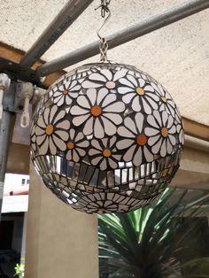 Mosaic Tray, Mosaic Pots, Mirror Mosaic, Mosaic Garden, Mirror Art, Mosaic Glass, Mosaic Tiles, Glass Art, Mosaic Bowling Ball