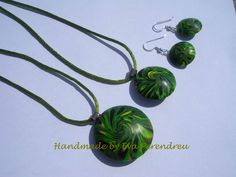 Handmade por Eva Perendreu, bisutería - jewellery: Cuentas rotadas - Lentils swirl beads