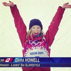 Woot woot!  Go Dara!  Sochi 2014 Canadian Olympic Photo Blog
