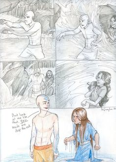 Avatar: The Last Airbender. Aang and Katara! THIS is the Kataang that I lovvvve. Older Kataang is awesome, because they're so much more mature and not as oogie as they were when they were younger. Avatar Aang, Avatar The Last Airbender Funny, The Last Avatar, Avatar Funny, Team Avatar, Avatar Airbender, Zuko, Legend Of Aang, Avatar Series