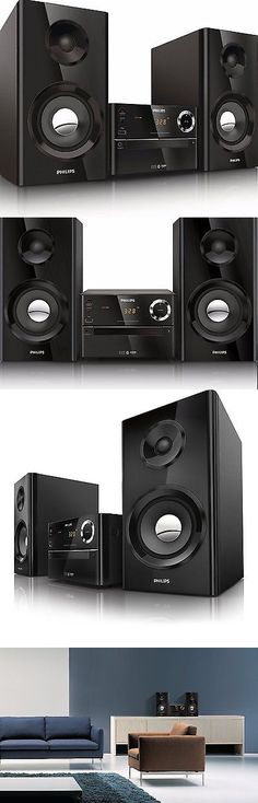 Compact and Shelf Stereos: Wireless Music Stereo Speaker System Home Theater Mp3 Cd Usb Iphone Phone Micro BUY IT NOW ONLY: $169.59