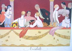 Vintage et cancrelats: George Barbier - Eventails