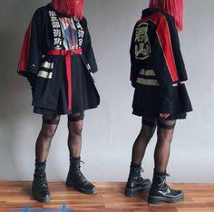 [WDYWT] vintage firefighter uniform (/r/streetwear) Art Cyberpunk, Cyberpunk Fashion, Cyberpunk Aesthetic, Cyberpunk Character, Grunge Fashion, 90s Fashion, Fashion Outfits, Style Fashion, Aesthetic Fashion