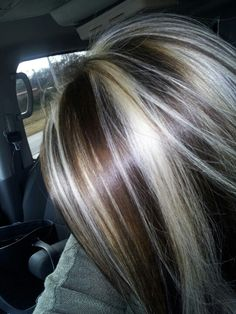 Highlights & lowlights. Pretty! this is my next style for this fall .