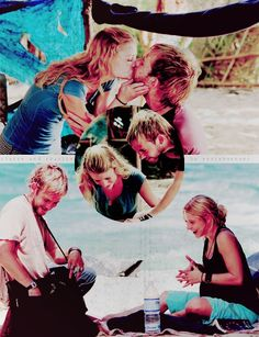 Charlie & Claire :') its so sad and happy at the same time! LOST.