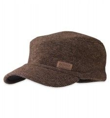 Exit Cap™ The breathable and warm Alpine-wool™ fabric of the Exit Cap is both functional and good looking.