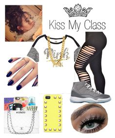 """""""Kiss My Class"""" by nyia101 ❤ liked on Polyvore"""