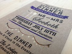 Modern Hipster Rehearsal Dinner Invitation  Hipster by TheFindSac, $3.00