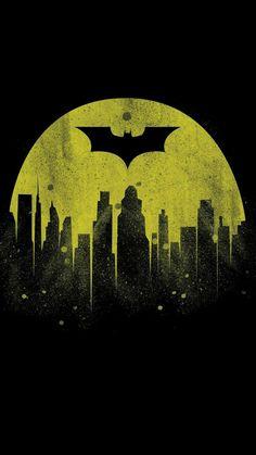 Wallpaper Iphone - Batman City iPhone Wallpaper - Wildas Wallpaper World Batman City, Batman Arkham City, Im Batman, Batman Comics, Spiderman, Batman Ninja, Batman Robin, Anime Comics, Dc Comics