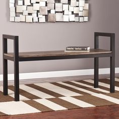 Shop for Holly and Martin Abachi Bench. Get free shipping at Overstock.com - Your Online Furniture Outlet Store! Get 5% in rewards with Club O!