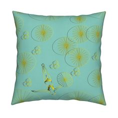 Catalan Throw Pillow featuring zen forest 1-01 by sissi-tagg