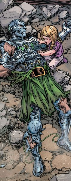 Doctor Doom and Valeria Richards by Tom Grummett Comic Book Artwork °°New Jersey Motorcycle and Auto Insurance 551-800-5991 mcsplst49@gmail.com