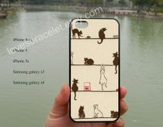 Cat iPhone casecats iPhone caseiPhone 5s by lovesbracelet on Etsy, $8.99