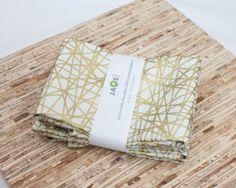 Eco-Friendly Large Cloth Napkins - Set of 4 - (N1339)