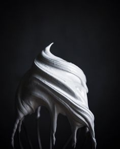 There's something really beautiful about this. (And I don't even like whipped cream!)