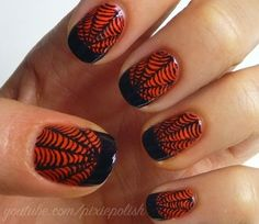 Holiday Nail Polish FInger Paint 2013 | 2013 Halloween Nail Art - Nail Polish Ideas 6