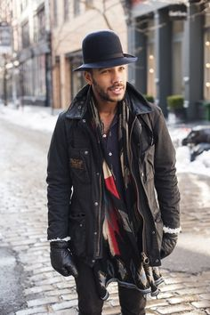 Marcus Allen || Streetstyle Inspiration for Men! #WORMLAND Men's Fashion