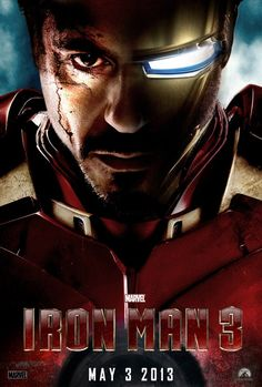 Iron Man 3 is a super hero marvel comics movie starring Robert Downey Jr as Iron Man. This is the installment of Marvel Studios production series of Iron man. Iron Man 3 is directed by Shane Black and produced by Kevin Feige. Marvel Comics, Heros Comics, Marvel Heroes, Marvel Avengers, Iron Man Poster, Poster S, Monsieur Cinema, Bon Film, Captain Jack Sparrow