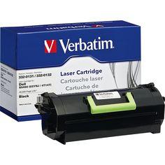 Verbatim Remanufactured Laser Toner Cartridge alternative for Dell 33 #99366