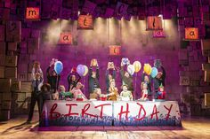 Matilda turns 4 in London's West End!  New London Cast Photos By Manuel Harlan