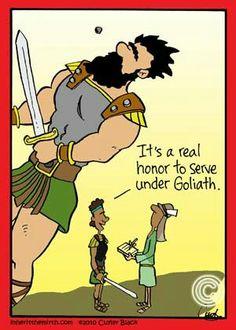 Serving Under Goliath