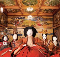 Hina-Matsuri(雛祭り)the Japanese doll festival, or girl's day is held on March 3.