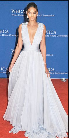 Chanel Iman at the White House Correspondents Dinner