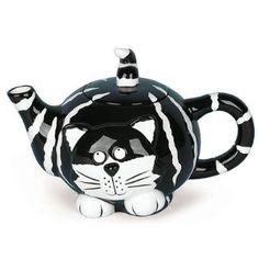 Chester The Cat Teapot Purrrrr-fect For Tea Parties $22