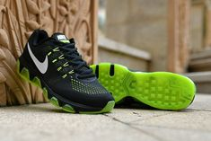 best website d4312 51f74 Spring Summer 2018 Authentic Nike Air Max Tailwind 8 Anthracite Lime Green  Voltage Green Workout Shoes