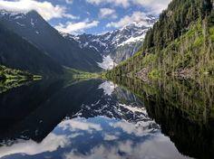 Morning reflection on Goat Lake (WA) [OC] [4048x3036]   landscape Nature Photos