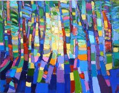 Blue Shadows (2016) Oil painting by Ruslan Khais | Artfinder