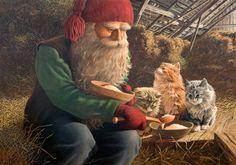 illustrationen weihnachtskarten - Google Search