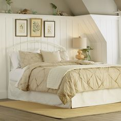 Mayfield Bed | With delicate lines, charming scrollwork and floral castings, the Mayfield bed adds Victorian charm to any bedroom.