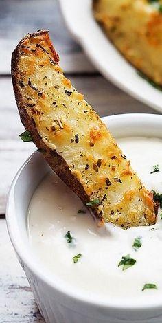 Baked Garlic Parmesa