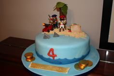 #Playmobil Pirate Island cake