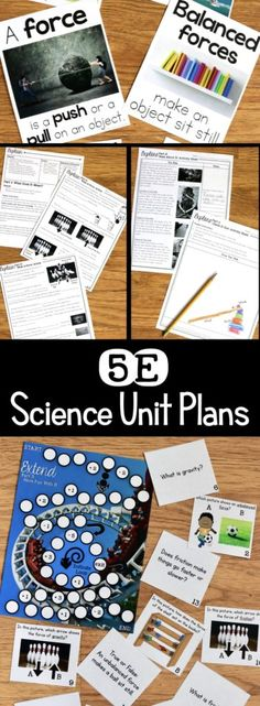These 5E Unit Plans are exactly the science resources teachers need to plan an implement inquiry-based science instruction. The 5E lesson plan provides the right amount of scaffolding at each phase of the learning cycle. #5esciencelessons
