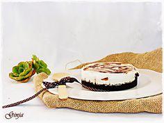 As várias faces da Ginja: Cheesecake marmoreado de chocolate