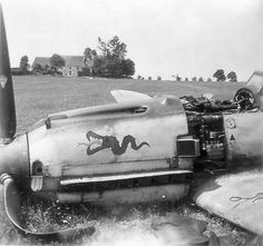 Attributed to a claim made by S/L David A Pemberton of No 1 Squadron RAF, Me 109E-4 Yellow 10 was shot up in combat over Staplehurst and crashed in flames at Blue House Farm, Milebush, at 18.15 on 18 August 1940, killing Ogefr Walter Bäsell of 3/JG3. The Tatzelwurm emblem, applied to the port side only of the cowling, was yellow with a thin black outline.