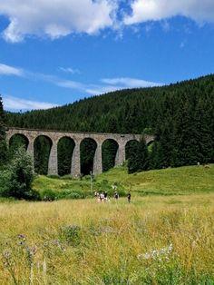 Telgart.Chmarošský viadukt Bridge, Bridges, Attic, Bro