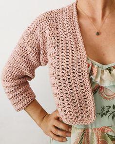 Crochet Cardigan Pattern, Crochet Stitches Patterns, Crochet Motif, Knit Crochet, Knitting Patterns, Crochet Ideas, Crochet Projects, Mushroom Pasta, Crochet Things