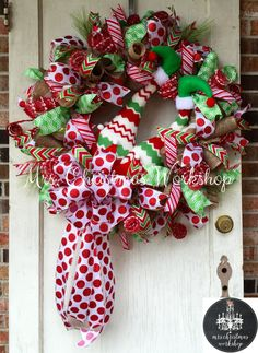Hey, I found this really awesome Etsy listing at https://www.etsy.com/listing/256303990/christmas-wreath-deco-mesh-wreath-burlap