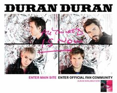 Duran Duran- All you need is now.  Love this album!!