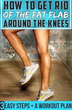 Fat on the sides of the knees is far away from the vital organs, which makes it harmless from a health perspective. The problem sets in ...