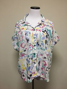 A personal favorite from my Etsy shop https://www.etsy.com/listing/499315467/oversize-cotton-button-up