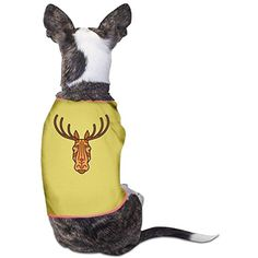 Yo Ou Cartoon Elk Customized Sleeveless Costume Dogs Cats Pet Doggy Sports Clothing Vest T Shirt Tees * Read more at the image link. (This is an affiliate link) #DogApparelAccessories